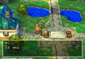 Dragon Warrior VII town