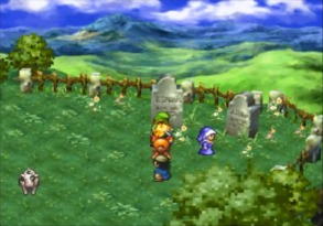 Dragon Warrior VII graves